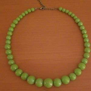 Retro bead necklace